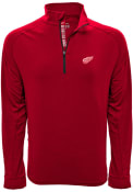 Detroit Red Wings Levelwear Peak 1/4 Zip Pullover - Red