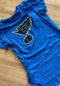 St Louis Blues Womens Levelwear Lux T-Shirt - Blue