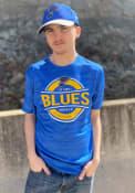 St Louis Blues Levelwear Anchor T Shirt - Blue