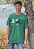 Dallas Stars Levelwear Richmond Splitter T Shirt - Kelly Green