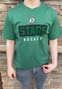 Dallas Stars Levelwear Richmond Rundown T Shirt - Kelly Green
