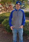 St Louis Blues Levelwear Vandal 1/4 Zip Pullover - Grey