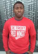 Detroit Red Wings Levelwear Zane Team Shield Sweatshirt - Red