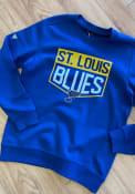 St Louis Blues Levelwear Zane Team Shield Sweatshirt - Blue