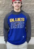 St Louis Blues Levelwear Uproar Block Hood - Blue