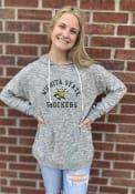 Wichita State Shockers Womens Cozy Hooded Sweatshirt - Grey