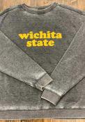 Wichita State Shockers Womens Campus Crew Sweatshirt - Charcoal