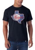 47 Texas Rangers Navy Blue Knockout Fashion Tee