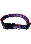 Texas Rangers Adjustable Pet Collar