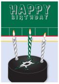 Dallas Stars Birthday Card Card