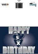 Xavier Musketeers Happy Birthday Card
