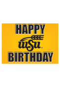 Wichita State Shockers Happy Birthday Card