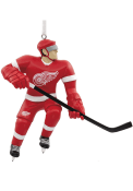 Detroit Red Wings Blank Player Ornament