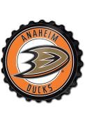 Anaheim Ducks Bottle Cap Sign
