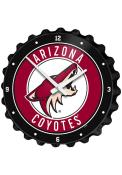 Arizona Coyotes Bottle Cap Wall Clock