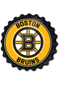 Boston Bruins Bottle Cap Sign