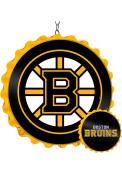 Boston Bruins Bottle Cap Dangler Sign