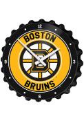 Boston Bruins Bottle Cap Wall Clock