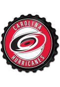 Carolina Hurricanes Bottle Cap Sign