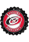 Carolina Hurricanes Bottle Cap Wall Clock