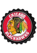 Chicago Blackhawks Bottle Cap Sign