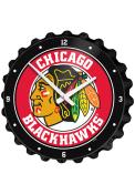 Chicago Blackhawks Bottle Cap Wall Clock