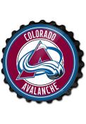 Colorado Avalanche Bottle Cap Sign