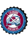 Colorado Avalanche Bottle Cap Wall Clock