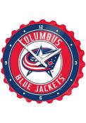 Columbus Blue Jackets Bottle Cap Wall Clock