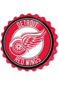 Detroit Red Wings Bottle Cap Sign