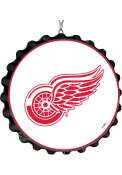 Detroit Red Wings Bottle Cap Dangler Sign