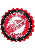 Detroit Red Wings Bottle Cap Wall Clock