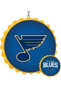 St Louis Blues Bottle Cap Dangler Sign