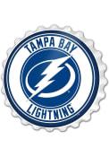 Tampa Bay Lightning Bottle Cap Sign