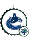 Vancouver Canucks Bottle Cap Dangler Sign