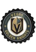 Vegas Golden Knights Bottle Cap Sign