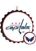 Washington Capitals Bottle Cap Dangler Sign