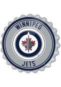 Winnipeg Jets Bottle Cap Sign