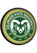 Colorado State Rams Round Slimline Lighted Sign