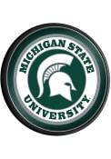 Michigan State Spartans Round Slimline Lighted Sign