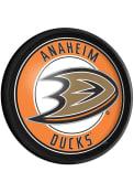 Anaheim Ducks Round Slimline Lighted Sign