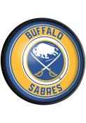 Buffalo Sabres Round Slimline Lighted Sign