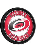 Carolina Hurricanes Round Slimline Lighted Sign