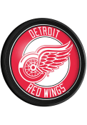 Detroit Red Wings Round Slimline Lighted Sign