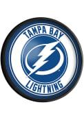 Tampa Bay Lightning Round Slimline Lighted Sign