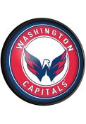 Washington Capitals Round Slimline Lighted Sign