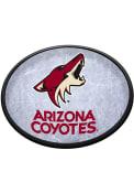 Arizona Coyotes Ice Rink Oval Slimline Lighted Sign