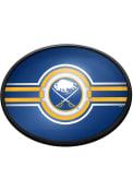 Buffalo Sabres Oval Slimline Lighted Sign
