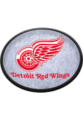 Detroit Red Wings Ice Rink Oval Slimline Lighted Sign