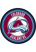 Colorado Avalanche Modern Disc Sign